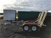 2013 Auswide Dual Axle Galvansied Plant Trailer