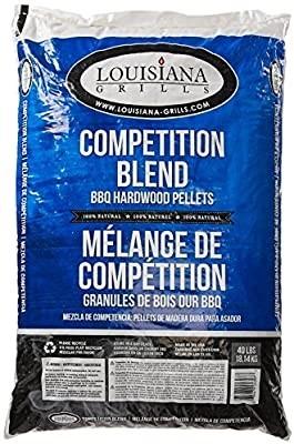 17.5kg x LOUISIANA GRILLS Competition Blend BBQ Hardwood Pellets N.B. Damag