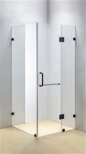 1000 x 900mm Frameless 10mm Glass Shower