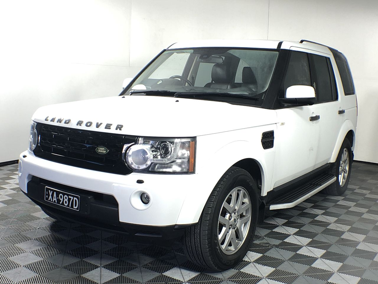 2012 Land Rover Discovery 4 2.7 TDV6 Series 4 T/D Automatic 7 Seats Wagon