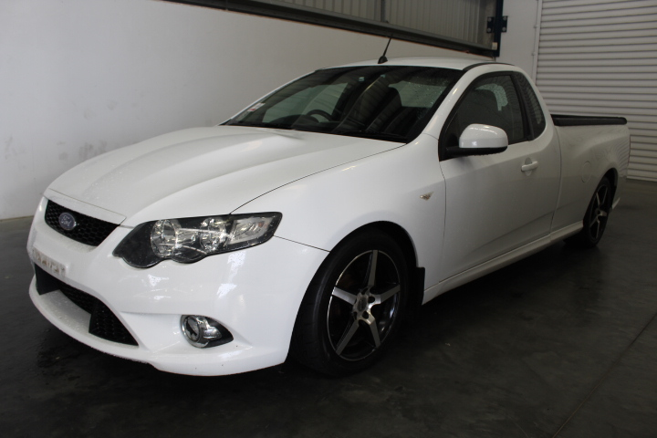 2010 Ford Falcon FG XR8 Automatic Ute, 126,672km