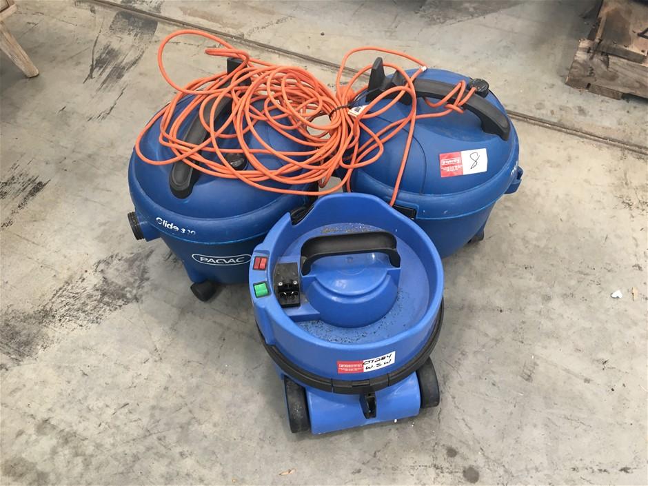 3 x Industrial Vacuums