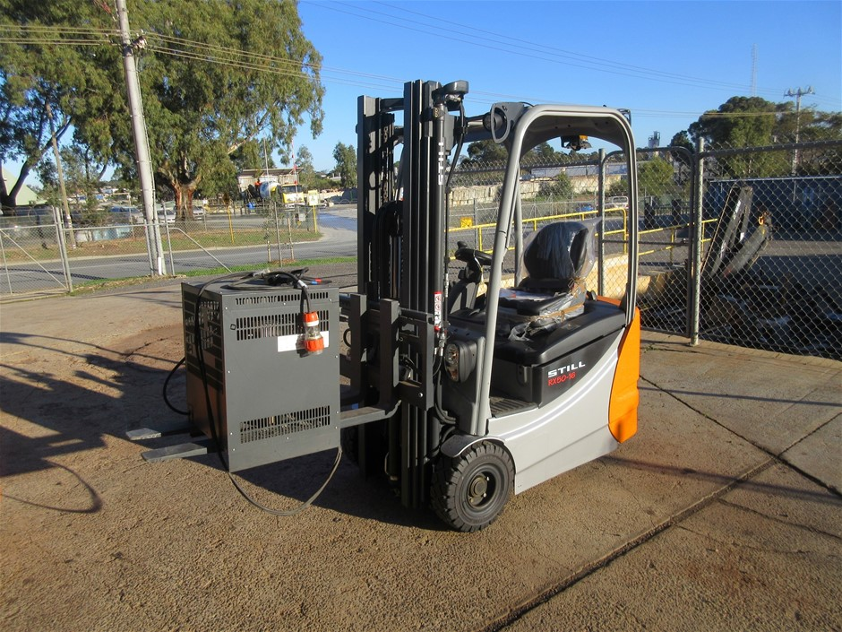 Unused Still RX50-16 3 Wheel Electric 1.6T Forklift