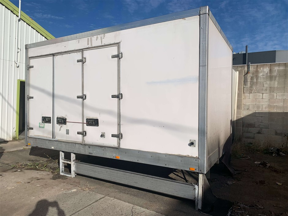 Refrigerated Truck Body 6 Pallets, Refrigerator Unit: Thermal Mast