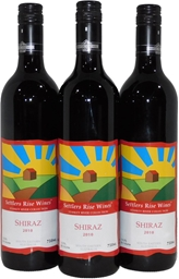 Settlers Rise Stanley River Collection Shiraz 2010 (3x 750mL) QLD. Screwcap