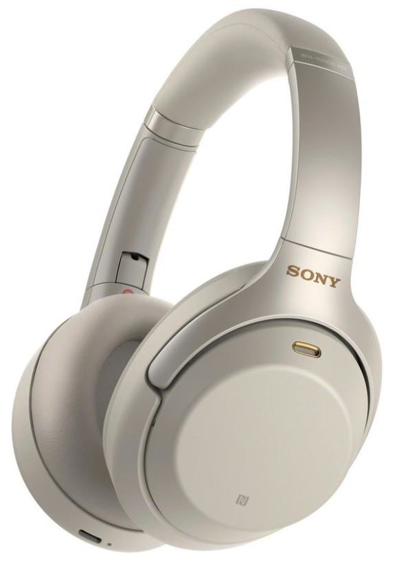 Sony Noise Cancelling headPhone WH-1000Xm3 -Silver