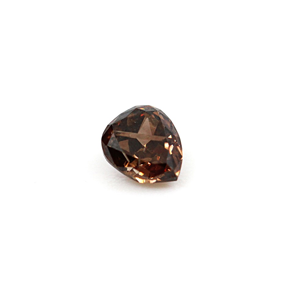 0.16 ct Orangy Brown Diamond