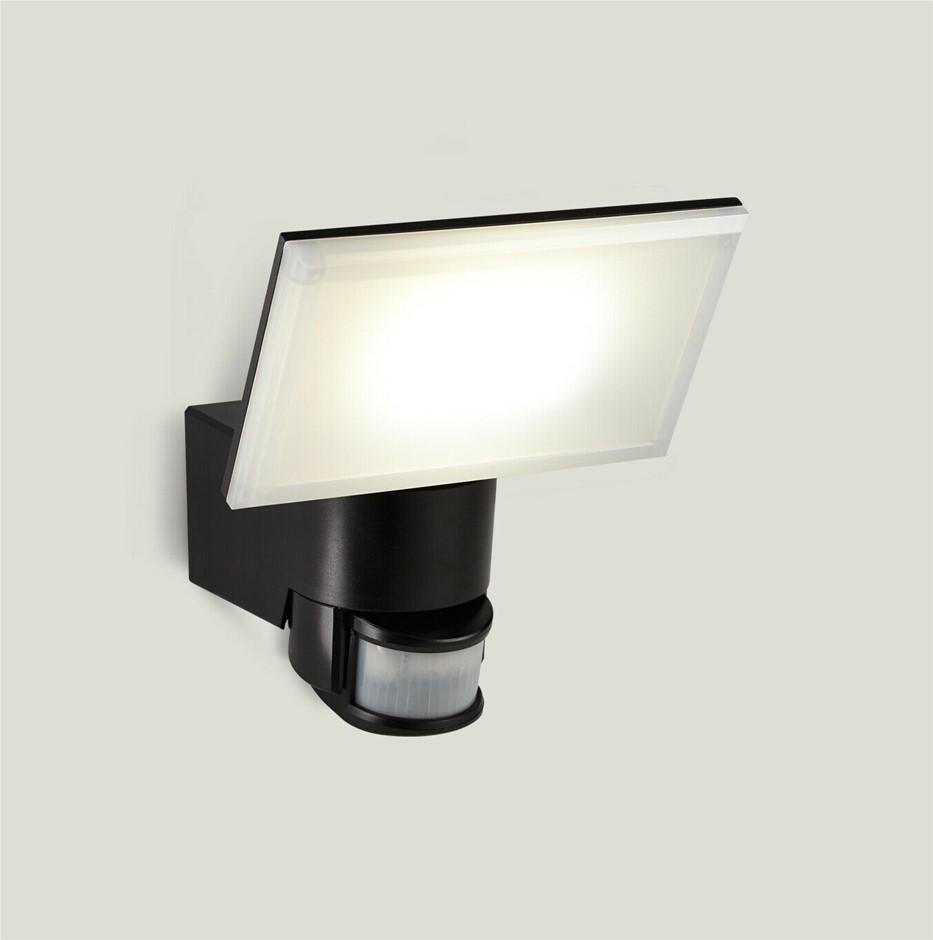 HPM Toran 16W LED Security Outdoor Floodlight, Pir Sensor IP44 LFS0316WBl
