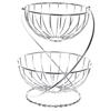 SIGNATURE 2-Tier Fruit Basket, Chrome Finish. (SN:CC61574) (273174-564)