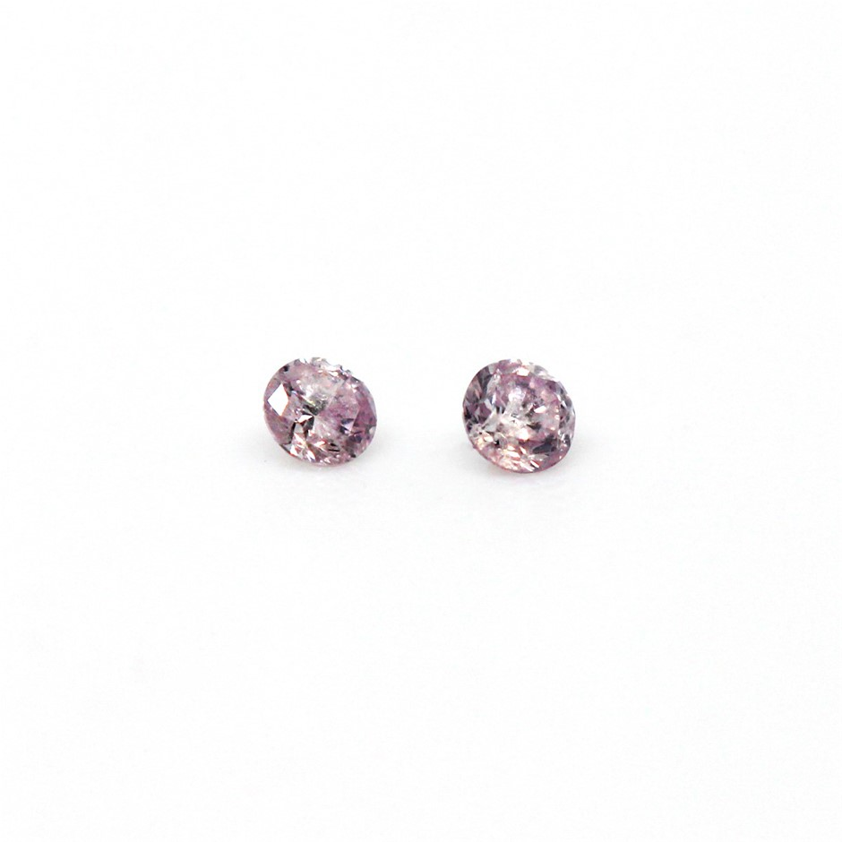 0.030 ct Pink Diamond
