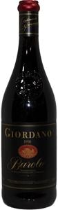 Giordano Barolo DOCG 1990 (1x 750mL), It
