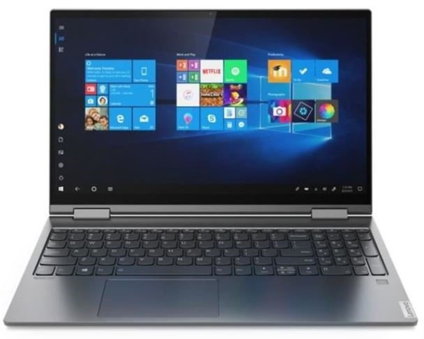 Lenovo Yoga C740-15IML 15.6-inch Notebook, Grey
