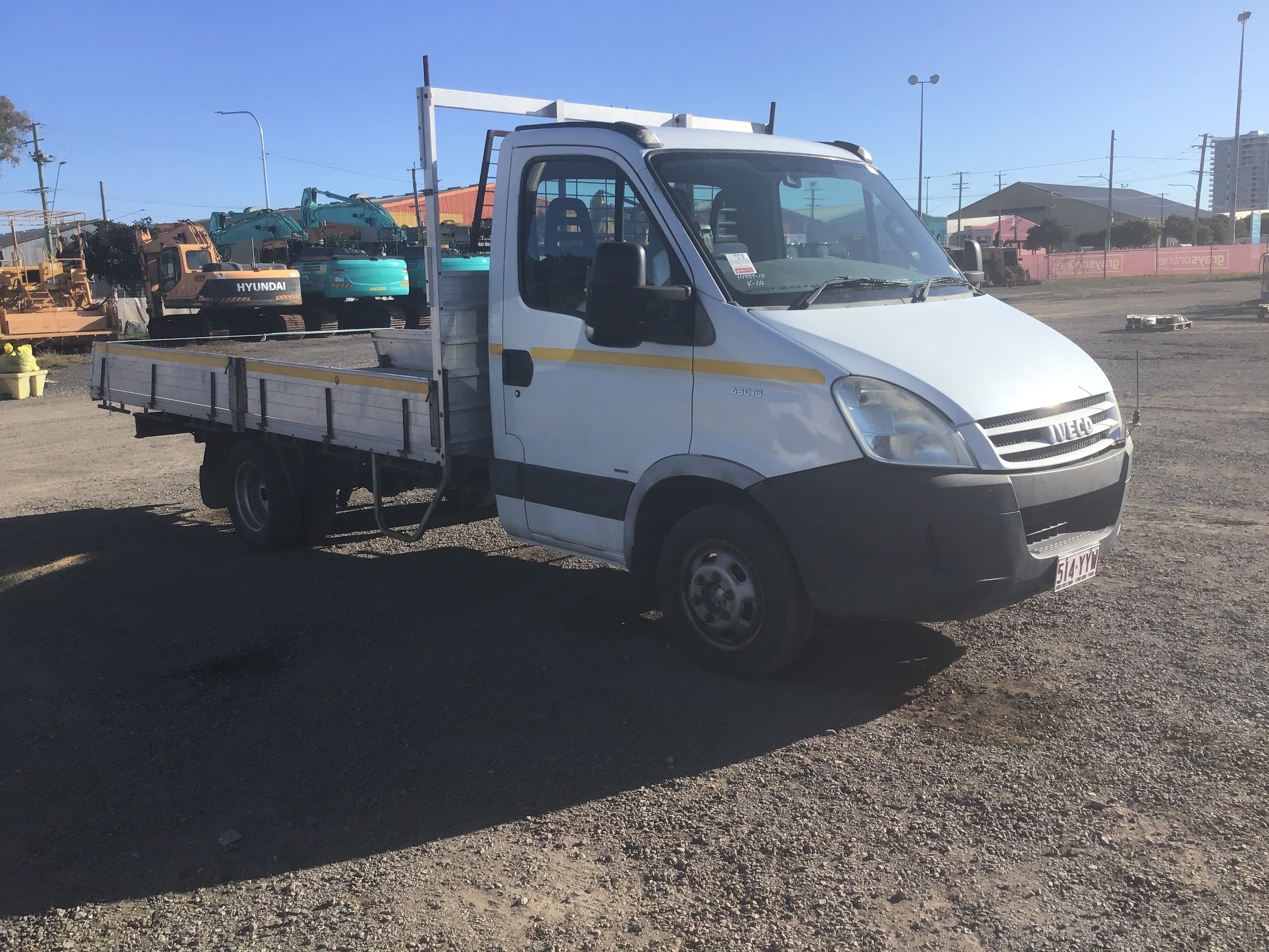 2009 Iveco Daily 4 x 2 Tray Body Truck