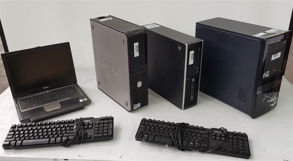 Bulk Lot Of Assorted Computers