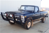 1977 Ford F100 RWD Manual Cab Chassis