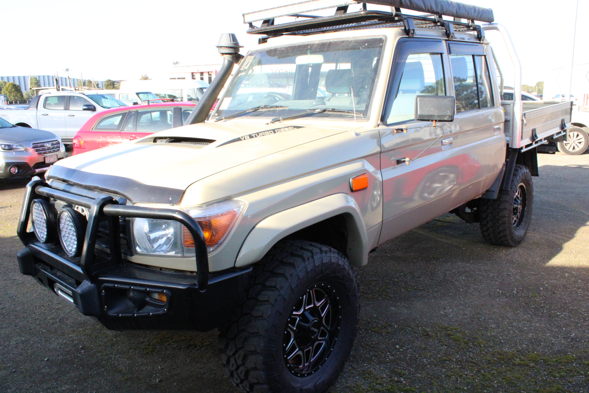 Toyota Landcruiser Workmate (4x4) VDJ79R T/D Manual Crew Cab Chassis