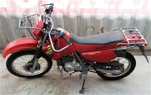 Motorbike, Honda CTX200 Bushlander AG, 200cc, Build Date ...