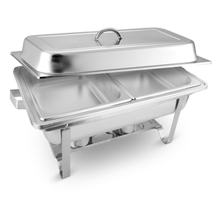 SOGA 2x4.5L Stainless Steel Chafing Food