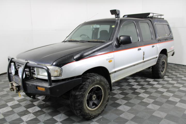 1999 Mazda Bravo SDX DUAL CAB PLUSPAC B2600 Manual Dual Cab