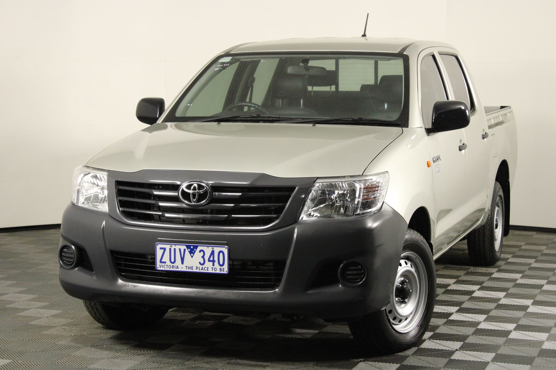 2013 Toyota Hilux Workmate TGN16R Automatic Dual Cab (EX GOV)