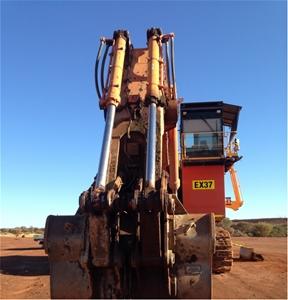 2012 Hitachi EX1900-6 Track Excavator wi