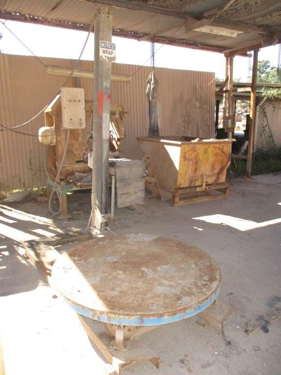 Unbranded Fabricated Pallet Wrap Machine