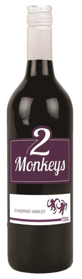 2 Monkeys Cabernet Merlot 2020 (12 x 750mL) SEA
