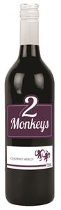 2 Monkeys Cabernet Merlot 2019 (12 x 750