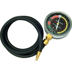 SIDCHROME vacuum Pressure Gauge, 1.2M Fl