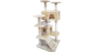 PaWz 1.3M Cat Scratching Post Tree Gym H