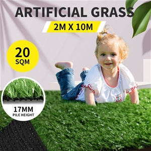 20SQM Artificial Grass Lawn Outdoor Synt