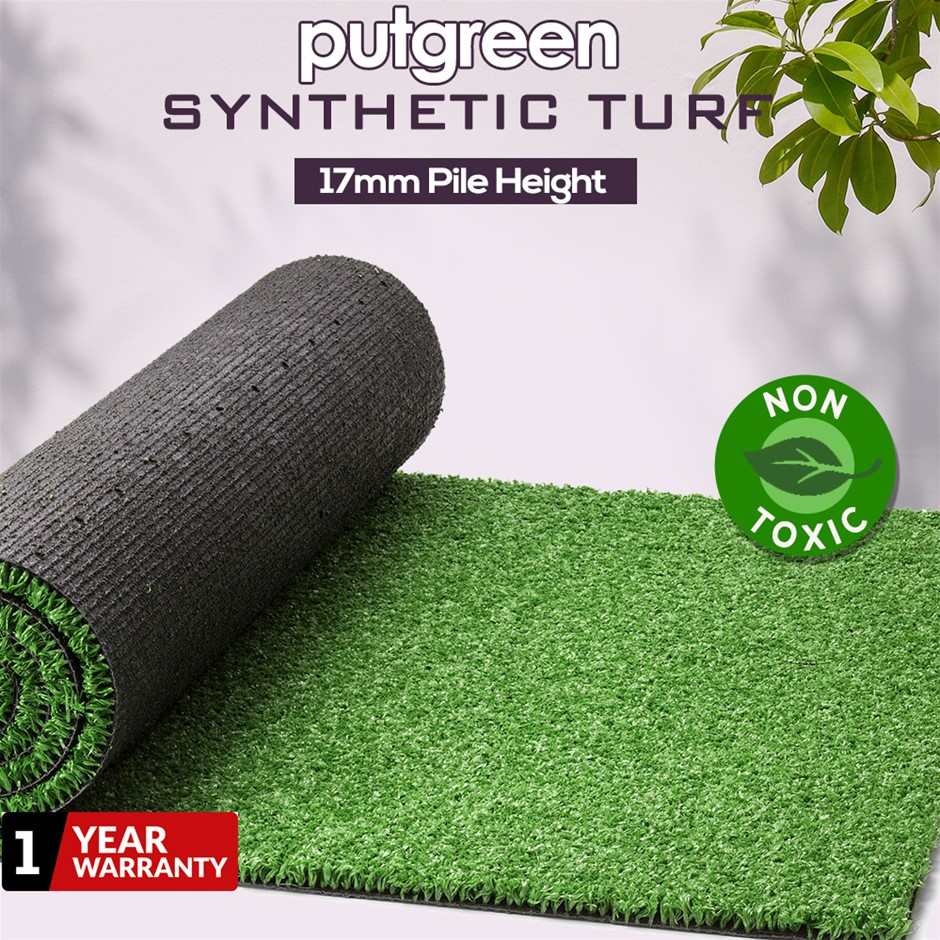 80SQM Artificial Grass Lawn Outdoor Synthetic Turf Plastic Plant Lawn