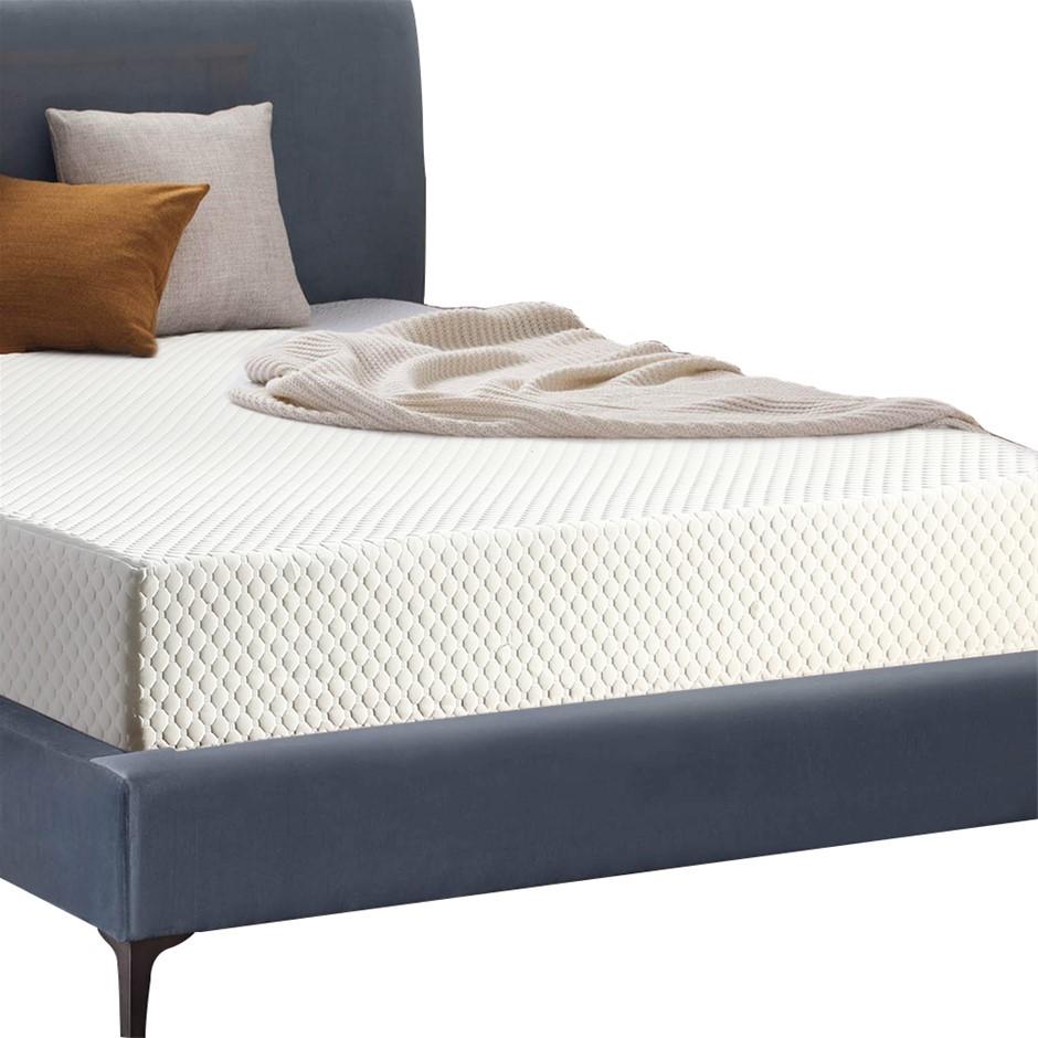 DreamZ Memory Foam Bedding Mattress with Cover 25.5cm Mat All Size S D Q K