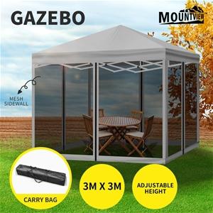 Mountview Gazebo Pop Up Marquee Outdoor