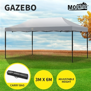 Mountview Gazebo Tent 3x6 Outdoor Marque