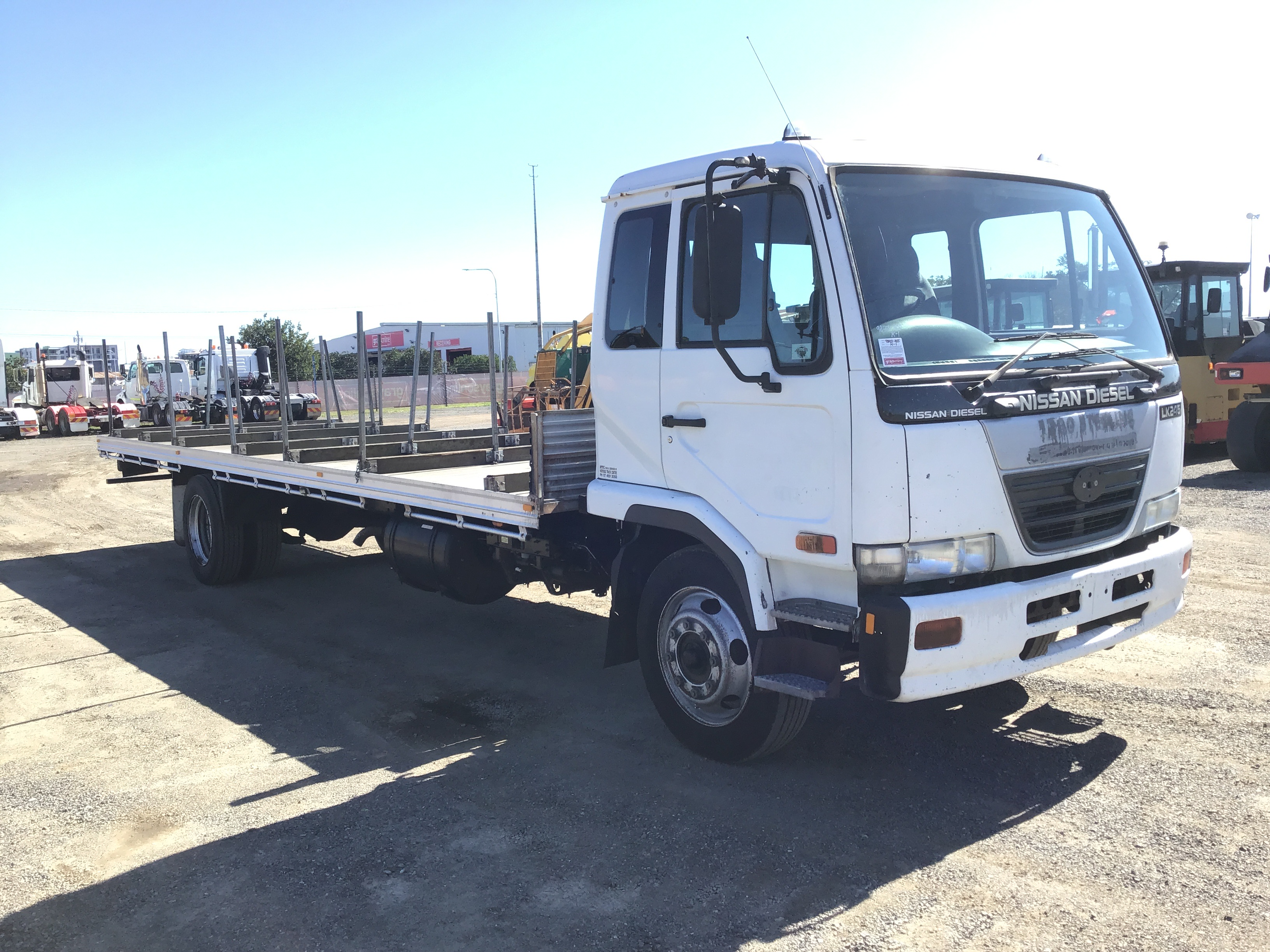 2004 Nissan U.D PK245 (Ex Corp) 4 x 2 Tray Body Truck