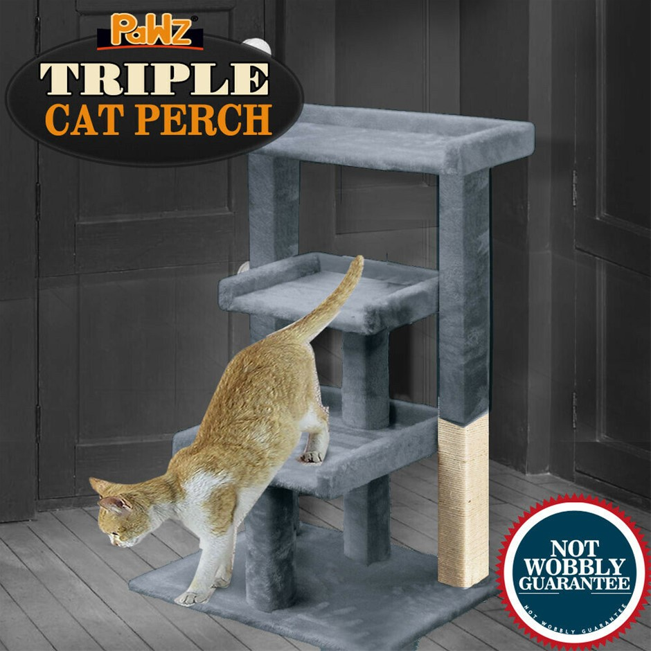 PaWz Pet Cat Tree Scratching Post Scratcher Trees Pole Gym Condo
