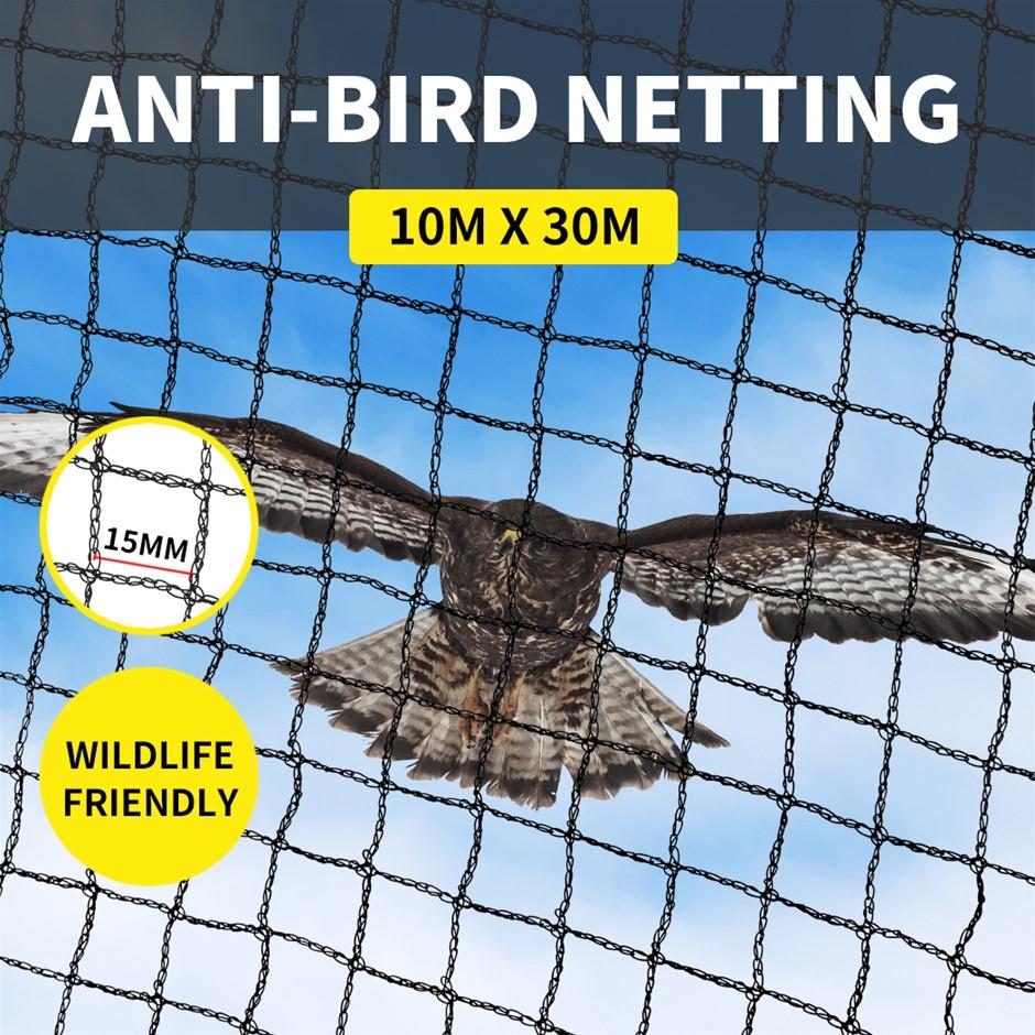 Anti Bird Netting Pest Net Commercial Fruit Tree Plant Protect Mesh 30GSM