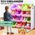 Levede 12Bins Kids Toy Box Bookshelf Organiser Display Shelf Rack Drawer