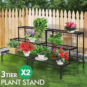 2x Levede Plant Stands Outdoor Indoor Me