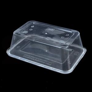 500 Pcs 750ml Take Away Food Platstic Co