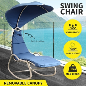 Outdoor Sun Lounge Swing Chair Lounger C