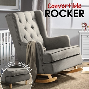 Levede Rocking Chair Lounge Chairs Baby