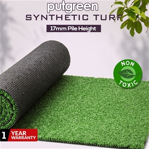 40SQM Artificial Grass Lawn Outdoor Synt