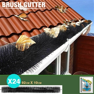 Gutter Brush Guard Leaf Heavy Duty Twigs