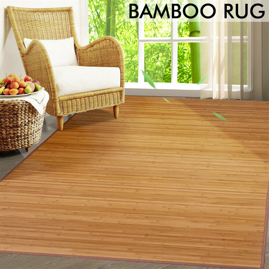 Floor Rugs Area Carpet Bamboo Mat Bedroom Living Room Extra Large 229 x 152