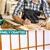 Levede 3 Panel Free Standing Foldable Room Divider Screen Wood Frame