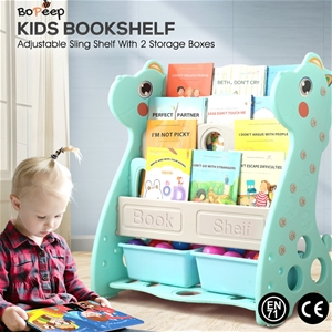 BoPeep Kids Bookshelf Bookcase Magazine