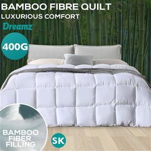 DreamZ 400GSM All Season Bamboo Quilt Du