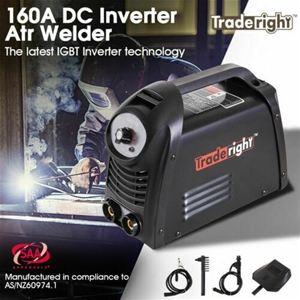 Traderight 160Amp Welder DC iGBT Inverte